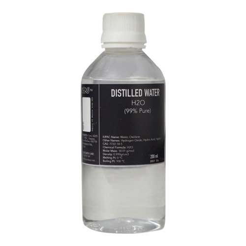 Distilled Water 99% Pure