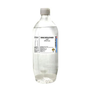 CERO DOUBLE DISTILLED WATER 99% Pure [H2O] CAS: 7732-18-5 (1LIT)