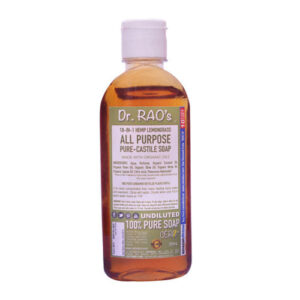 CERO Dr Rao's Lemon Grass Fragrance All Purpose Pure Castile Soap, Perfect for DIY Projects (200ML)