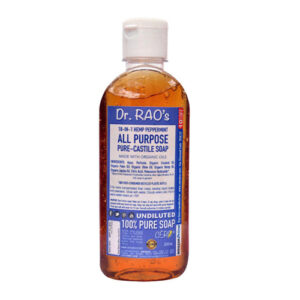 CERO Dr Rao's Mint Fragrance All Purpose Pure Castile Soap, Perfect for DIY Projects (200ML)
