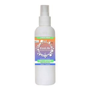 ECOLIFE 100% Natural Clean Spray for Dogs, Fragrance Free (200ml)