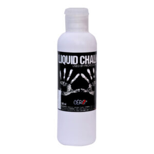 CERO Liquid Chalk for Improving Grip During Weightlifting, Power Lifting, Gymnastics, Pole Fitness, Rock Climbing Used by Professionals. [200ml]