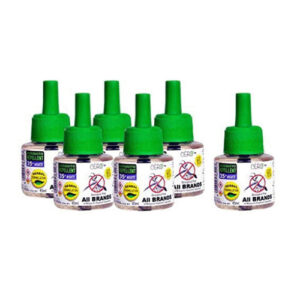 """CERO HERBAL Mosquito Repellent for ALL BRANDS of Vaporiser Machines""""PACK OF SIX"""" (270 ml)"""