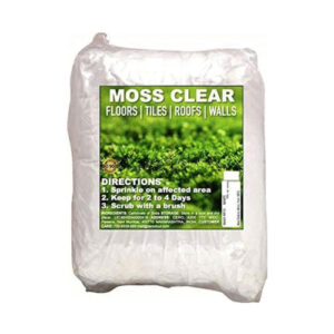 CERO Moss Clear, Moss Mould Mildew Cleaner for Floors Tiles Roofs Walls (1kg)