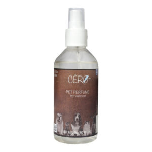 CERO 100% Natural and SAFE 'PET PERFUME' for DOGs CATs PETs (200ml)