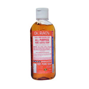 CERO Dr Rao's Rose Fragrance All Purpose Pure Castile Soap, Perfect for DIY Projects (200ML)