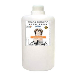 CERO Decontaminant & Cleanser Shampoo for DOGS (1LIT)