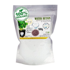 CERO WATER RETAIN Water Retention GEL for Potted Plants / Home Gardens (500g)